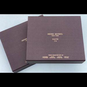 Henri Bendel empty boxes for Suite 712 travel set